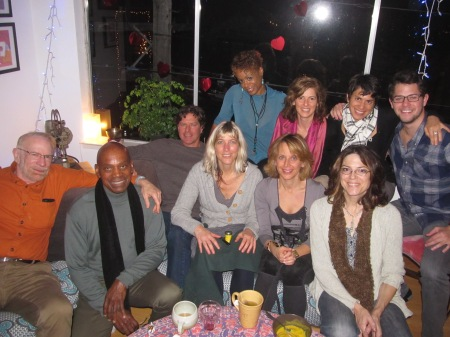 Dec 30th 2012 Salon: Lee, Ed, Scott, Akasha, Ama, Janet, Emily, Marenka, Jen